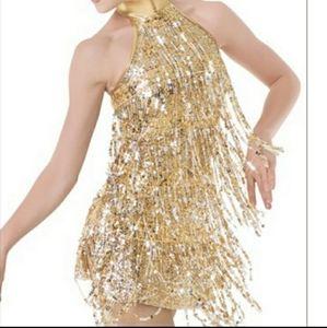 Weissman Sequin Flapper Costume Dress